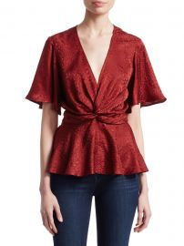 Alma Wrap Top by A.L.C. at Saks Off 5th