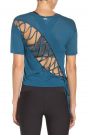 Alo Entwine Crop Tee at Nordstrom