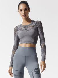 Alo Yoga Siren Long Sleeve Top at Carbon 38