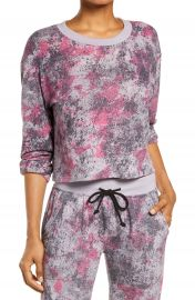 Alternative Headliner Splash Print Lounge Top   Nordstrom at Nordstrom