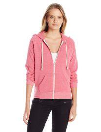 Alternative Women s Adrian Fleece Zip Front Hoodie Sweatshirt at Amazon