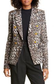 Alton Leopard Print Jacket at Nordstrom