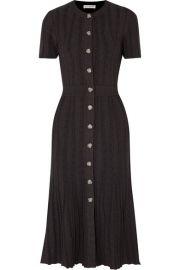 Altuzarra - Abelia ribbed stretch-knit midi dress at Net A Porter