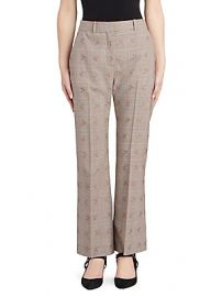 Altuzarra - Alder Floral Check Trousers at Saks Fifth Avenue
