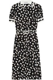 Altuzarra   Ella belted fil coup   dress at Net A Porter