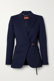 Altuzarra - Irving belted wool-blend blazer at Net A Porter