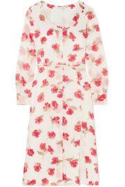 Altuzarra - Livia floral-print chiffon dress at Net A Porter