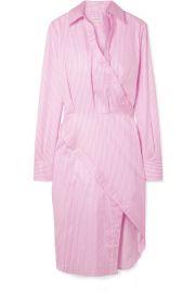 Altuzarra   Monday pinstriped cotton-twill shirt dress at Net A Porter
