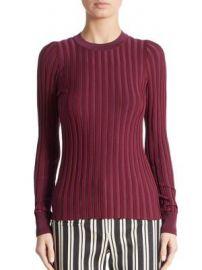 Altuzarra - Reagan Rib-Knit Crewneck Sweater at Saks Fifth Avenue