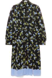 Altuzarra - Strada floral-print silk crepe de chine dress at Net A Porter