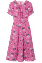 Altuzarra   Tuesday floral-print silk crepe de chine dress at Net A Porter