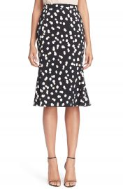 Altuzarra  Novak  Dot Cady Trumpet Skirt at Nordstrom