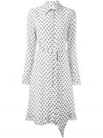 Altuzarra Cherries Print Shirt Dress at Farfetch