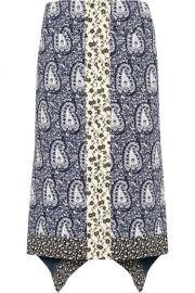 Altuzarra Cyrus Silk Skirt at Net A Porter