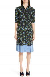 Altuzarra Floral Print Silk Dress   Nordstrom at Nordstrom