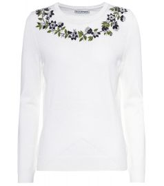 Altuzarra Hermione sequinned wool sweater at My Theresa