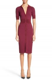Altuzarra Olivia Knit Shirtdress at Nordstrom
