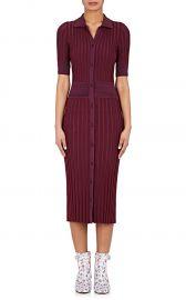 Altuzarra Olivia Rib-Knit Shirtdress at Barneys