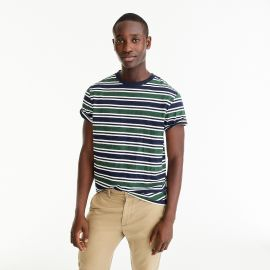 Always 1994 T-shirt in blue-green stripe at J. Crew