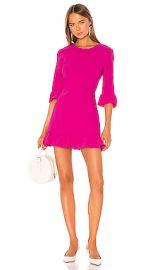Amanda Uprichard Candice Dress in Hot Pink from Revolve com at Revolve