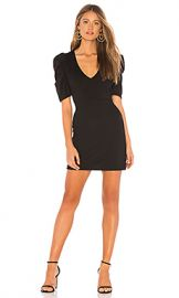 Amanda Uprichard Keene Dress in Black from Revolve com at Revolve