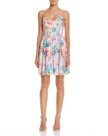 Amanda Uprichard Mai Tai Floral Silk Dress at Bloomingdales