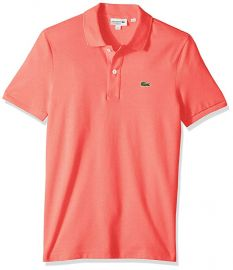 Amaryllis Pink Polo Shirt by Lacoste at Amazon