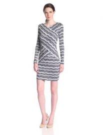 Amazoncom BCBGMAXAZRIA Womenand39s Melysa Striped Lace Dress Clothing at Amazon