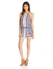 Amazoncom BCBGMAXAZRIA Womenand39s Tyra Scarf Print Jumper Clothing at Amazon