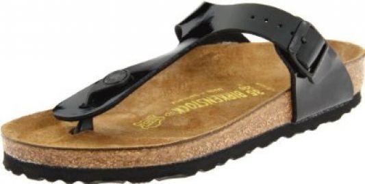Amazoncom Birkenstock Gizeh Birko-Flor Sandal Shoes at Amazon