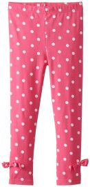Amazoncom Gerber Graduates Little Girlsand39 Leggings Clothing in pink polka dot at Amazon