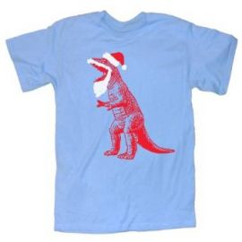 Amazoncom Happy Family Big Bang Theory Santa T-Rex Ugly Sweater T-Shirt Clothing at Amazon