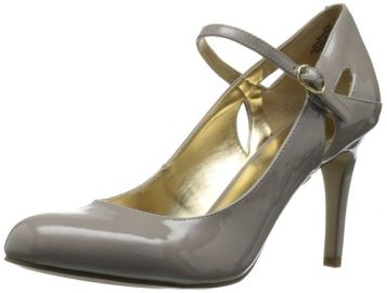 Amazoncom Nine West Womenand39s Erinne Mary Jane Pump Shoes in grey at Amazon