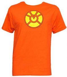 Amazoncom Orange Lantern Symbol T-Shirt Clothing at Amazon