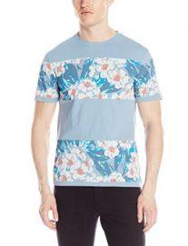 Amazoncom Original Penguin Menand39s Block Floral T-Shirt Clothing at Amazon