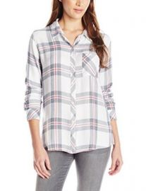 Amazoncom Rails Womenand39s Hunter Plaid Shirt Clothing at Amazon