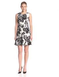 Amazoncom Rebecca Taylor Womenand39s Splashy-Flower Flounce Dress Clothing at Amazon
