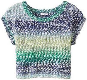 Amazoncom Splendid Big Girlsand39 Cropped Sweater Clothing at Amazon