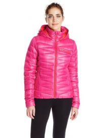 Amazoncom Spyder Womenand39s Timeless Hoody Jacket at Amazon