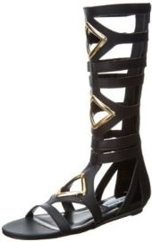 Amazoncom Steve Madden Womenand39s Arisotle Gladiator Sandal Shoes at Amazon