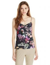 Amazoncom Ted Baker Womenand39s Cynaria Printed Top Clothing at Amazon
