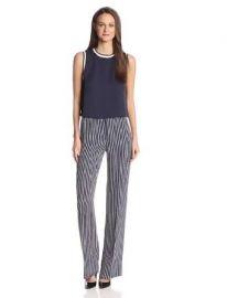 Amazoncom Theory Womenand39s Pajeema Main Stripe Pant Clothing at Amazon