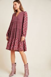 Amber Tiered Tunic at Anthropologie