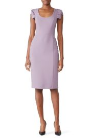 Amelie Dress in Violet Vista by Black Halo at Rent The Runway