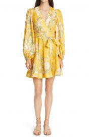 Amelie Floral Linen Wrap Dress by Zimmermann at Nordstrom