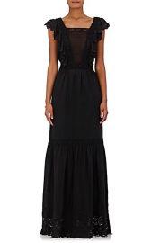 Amelie Silk Crepe Maxi Dress by Ulla Johnson at Barneys Warehouse