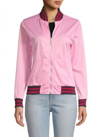 American Stitch - Contrast-Trimmed Bomber Jacket at Saks Off 5th
