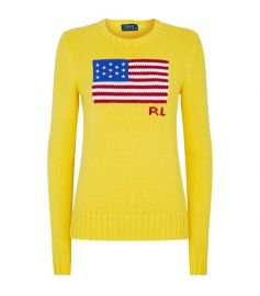 American Flag Sweater by Ralph Lauren at Harrods