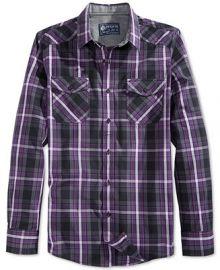 American Rag Entrekin Plaid Shirt at Macys