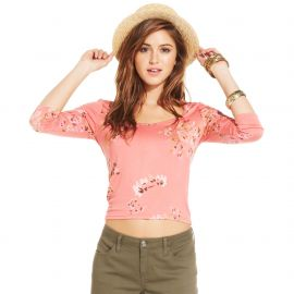 American Rag Floral Print Top at Macys